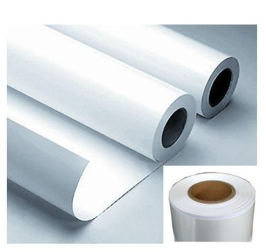PP Sticker Glossy Self Adhesive Film 120gsm